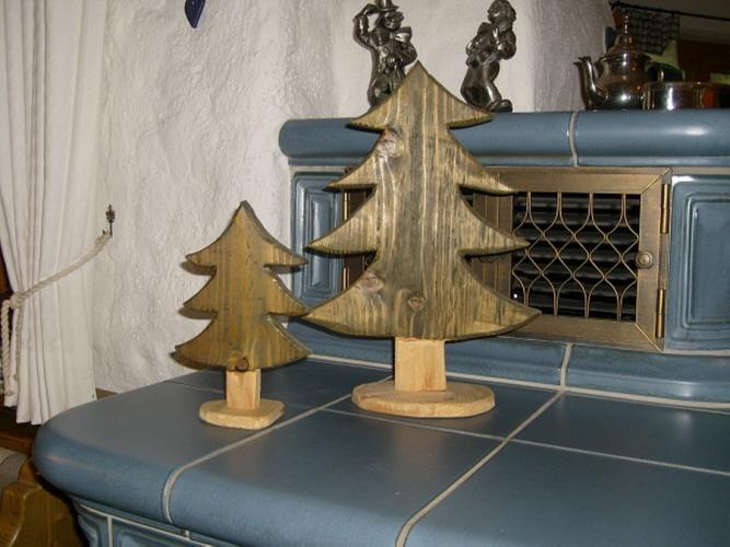 Weihnachts deko elviras deko for Altholz look selber machen